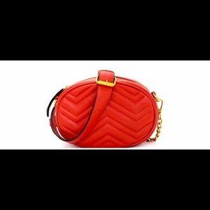 Handbags - Red Fanny / Crossbody Combo